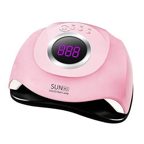 Tuneway SUNM3 Secador de U?As 180W Sensor Inteligente LED Todo Gel LáMpara de Pulido MáQuina de Fototerapia de U?As UV LED Secador de LáMpara Enchufe de la UE
