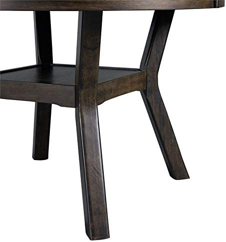 Picket House Furnishings Taylor Counter Height Dining Table in Walnut