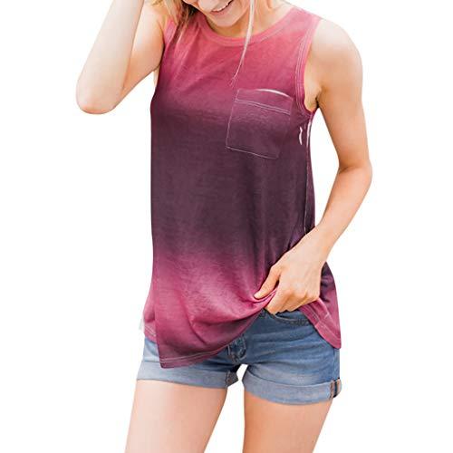 YanHoo Maglietta T-Shirt Top Donna,Estivi Elegante Canotta Bianco Maniche Camicetta Casual Tops Maglietta T-Shirt da Allenamento da Donna - Abbigliamento da Palestra Fitness Yoga Lift (M, Nero)