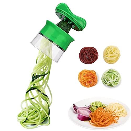 Cortador de tornillo de verduras de mano cortador de fideos de pepino vegetal cortador de filamentos cepilladora herramienta de cocina