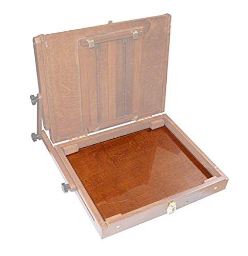 """Sienna Plein Air Glass Palette Insert: Large, 12"""""""" x 10"""""""" Accessory for The Sienna Plein Air Pochade Box (CT-GP-0912)"""