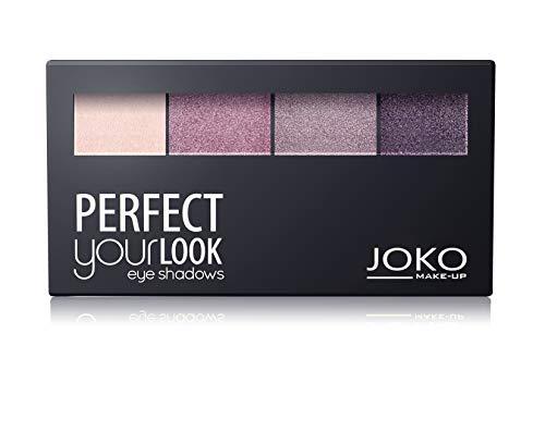 Palette fards à paupières Quattro - 401 Rosé/Framboise/Violet/Prune - Joko