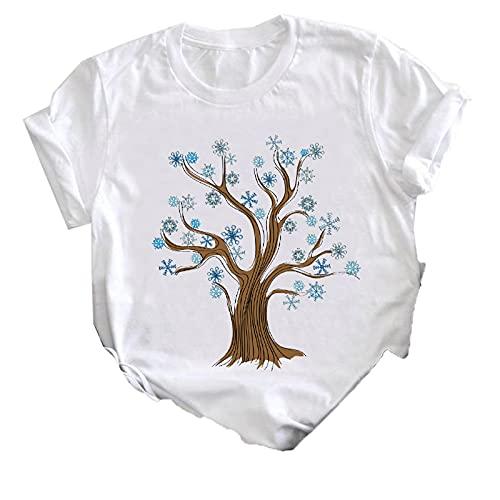 shirts Las mujeres 2021 pluma pájaro manga corta impresión primavera moda señora ropa impresión camiseta mujer camiseta top señoras gráfico T