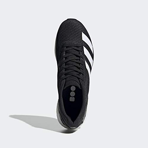 adidas Adizero Boston 8 M Black White Grey Six 44.5