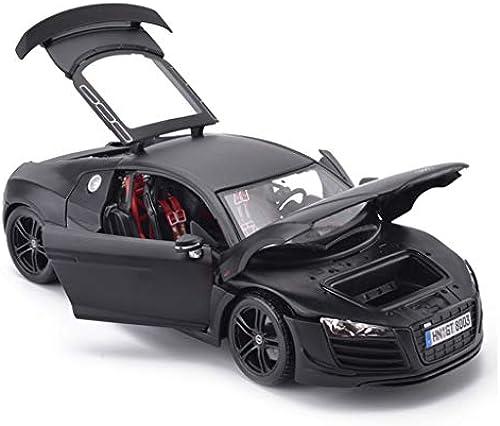 HTDZDX Auto Modell Auto 1 18 Audi R8GT Simulation Legierung druckguss Spielzeug Ornamente Sportwagen Sammlung schmuck 25x11,3x7,2 cm