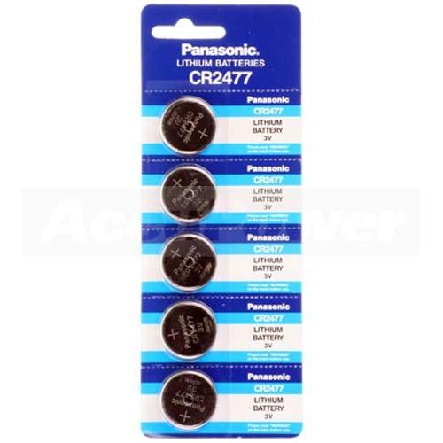 CR2477 al litio moneta batteria, 1000mAh