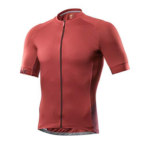 Santic Maillot Ciclista Hombre Top Ciclismo Bicicleta Bici Transpirable Secado Rápido Reflectante...