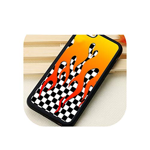 Plaid Checked Checkered Checkerboard Patterns Soft Phone Cases for iPhone 6 6S 7 8 Plus Xs Max Xr 5S Se Back Cover Shell,for iPhone Xr,5463