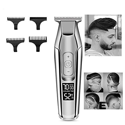Professional Hair Clipper Electric Clipper CD Display 0mm Kaal tondeuse Razor Men Electric Trimmer HAOSHUAI