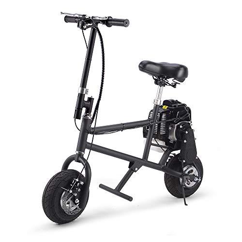 SAY YEAH Gas Bike 49cc 2-Stroke Petrol Motorized Mini Scooter, Adult Super Folding Bicycle, Gas Powered Kids Mini Dirt Bike Motocross Bike, EPA Approved