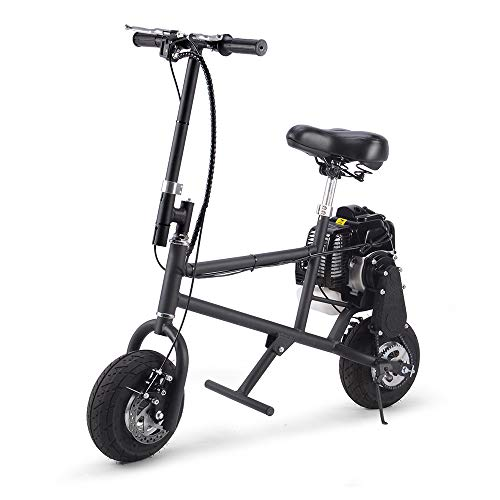 SAY YEAH Gas Bike 49cc 2-Stroke Petrol Motorized Mini Scooter, Adult Super Folding Bicycle, Gas Powered Kids Mini Dirt Bike Motocross Bike, EPA Approved