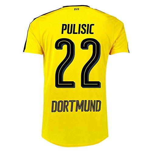 2016-17 Borussia Dortmund Home Shirt (Pulisic 22)