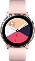 Samsung Galaxy Watch Active (40mm, GPS, Bluetooth) Smart Watch with Fitness Tracking, and Sleep Analysis - Rose Gold ...