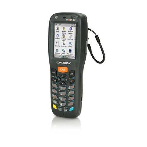 Datalogic Memor X3, 1D, USB Kit, num. RS232, BT, WiFi, laser, 25keys, 944250004 (RS232, BT, WiFi, laser, 25keys incl.: cable (USB), power supply unit, battery 1430mAh)