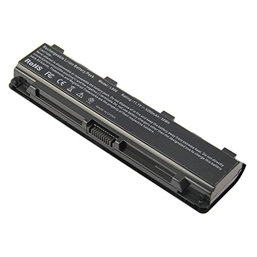 PA5023U-1BRS PA5024U Laptop Battery for Toshiba Satellite C55-A5282 C55-A5285 C55-A5286 C55-A5298 C55-A5300 C55-A5302 C55-A5308 C55-A5309 C55 Toshiba Satellite T572 C805 C850 C850D Dynabook Qosmio T75