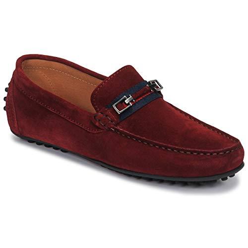 Brett & Sons Farice Slipper & Bootsschuhe Herren Braun/Marine - 43 - Slipper Shoes