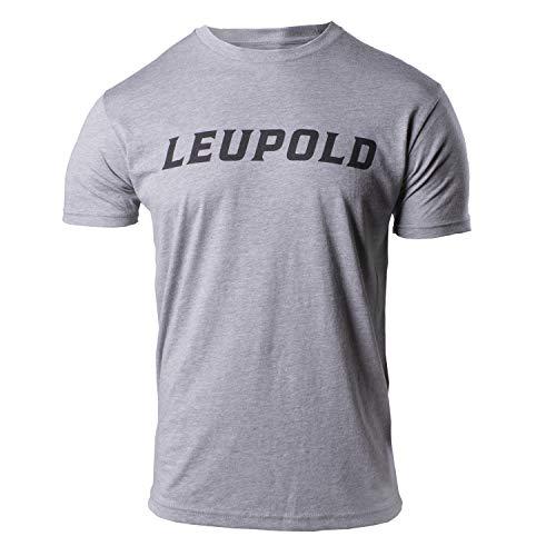 Leupold Men s Standard Wordmark T-Shirt, Heather, 3X-Large