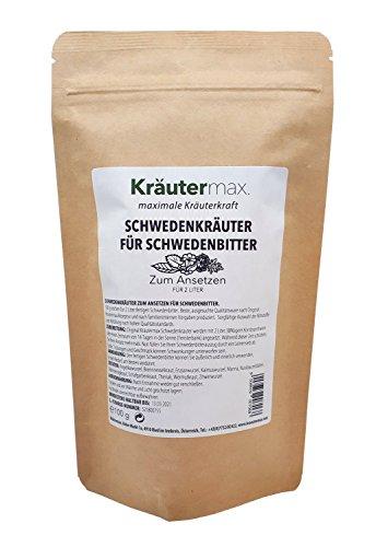 Schwedenkräuter Ansatz Ansatzmischung Zum Ansetzen von 2 Liter Schwedenbitter 1 x 100 g