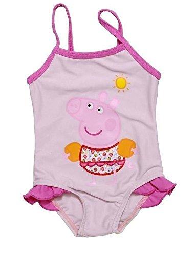 Peppa Pig Costume da Bagno Intero Bambina braccioli 1 Anno