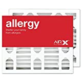 AIRx Filters 16x20x5 MERV 11 HVAC AC Furnace Air Filter Replacement for Honeywell FC100A1003, Allergy 2-Pack, Made in the USA