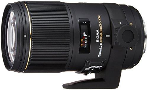 Sigma 150 mm f/2.8 APO Macro EX DG OS HSM - Objetivo para Canon (Distancia Focal Fija 150mm, Apertura f/2.8-22, diámetro: 72mm) Color Negro