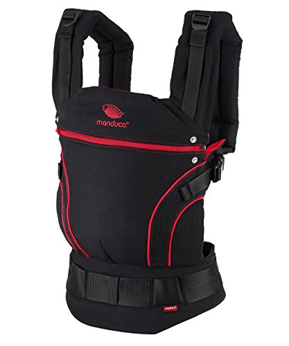 *manduca First Baby Carrier/Babytrage > Black Line RadicalRed*