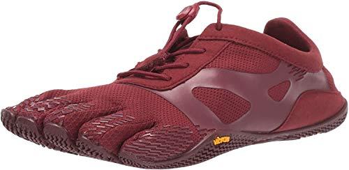 Vibram Herren KSO Evo Running Shoe, Burgundy Burgundy, 37/37.5 EU