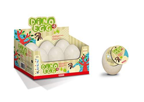 Dino Egg. Uovo sorpresa. Sperimenta la nascita del tuo dinosauro. 4 diversi dinosauri da collezionare. COMANSI