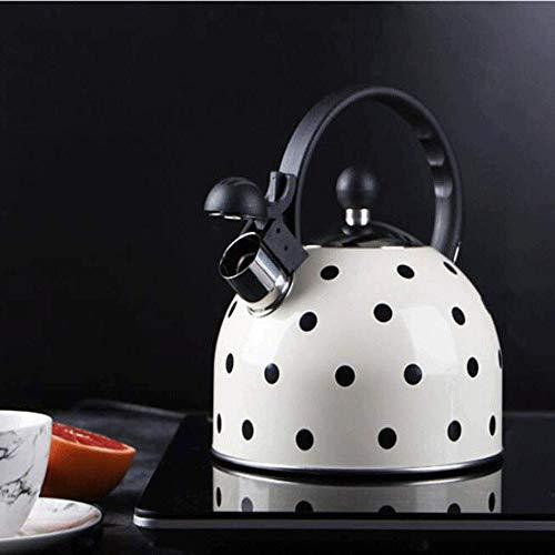KSW_KKW 2.5L, bouilloire à sifflet, théière, casserole, marmite à contrôle automatique, cuisinière à induction, cuisinière à gaz, théière, casserole, cuisinière à induction, cuisinière à gaz, peut êtr