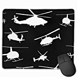 Helicopter Mini Gaming Mouse Pad Fast and Accurate Control for Gaming and Office(25 X 30cm)