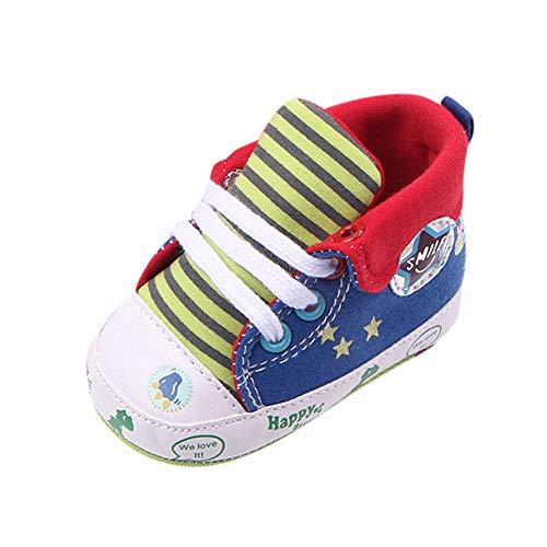 Fannyfuny_Zapatos de Bebé Niño Niña Zapatos de Vestir Zapatillas Niños Bonitos Sandalias de Verano Recién Nacido Bebe Zapatos Primeros Pasos Zapatos de Disbujos Animados Antideslizante
