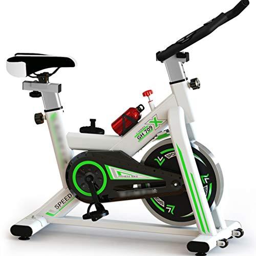 Hometrainers Kettler Hometrainers Mute Verstelbare Spinningfiets Indoor Aërobe Fitnessapparatuur Huishoudelijke Scooter (Color : Green, Size : 105 * 50 * 102cm)