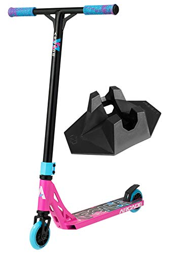 Arcade Patinete Pro Scooters Freestyle - Patinetes Freestyle - Stunt Scooter - Patinetes de Acrobacias (Pink/Rosado)