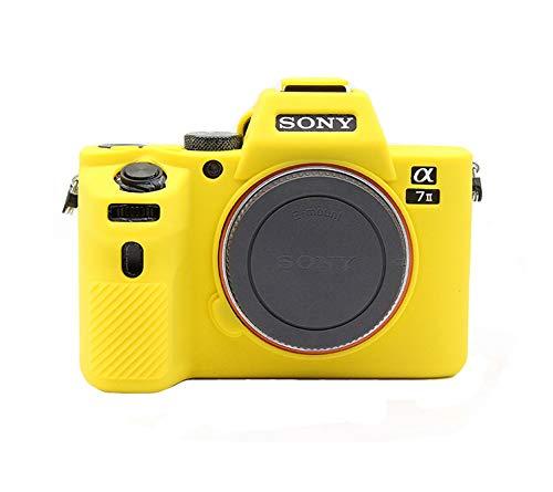 kinokoo - Custodia in silicone per fotocamera Sony A7 II/ILCE-7M2/A7M2/α7 II, colore: Giallo