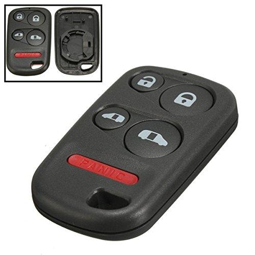 JenNiFer 4 Botón + Pánico Entrada Remota Llave Carcasa Sin Llave para Honda Odyssey