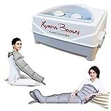 Appareil de massage Mesis Xpress Beauty avec 2 leggings + Kit Slim Body + 1 bracelet | massage intense sur les jambes, l'abdomen et le bras.