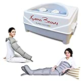 Máquina de masaje Mesis Xpress Beauty con 2 botas pierna + Kit Slim Body + 1 brazo |...