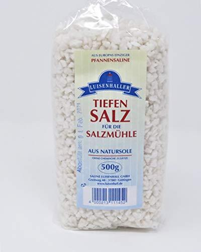 Luisenhaller Salzmühlensalz 500g GROB - Originalverpackung