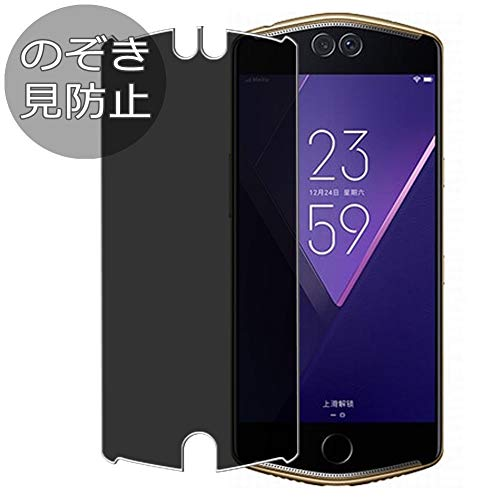 Synvy Privacy Screen Protector Film for Meitu V6 Anti Spy Protective Protectors [Not Tempered Glass]