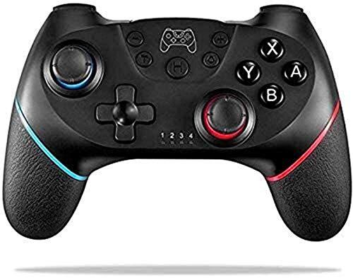 ZLZ Encargarse de Controlador inalámbrico, Joystick de Gamepad Remoto para la Consola de conmutación de Nintendo, admite Ejes de gyro y Sensor de Gravedad Flexible (Color : Default)