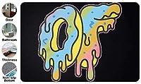 3D OFWGKTA Odd Future ドアマット 洗える 吸水 速乾 滑り止め オールシーズン適用 (39.88 X 59.7cm)