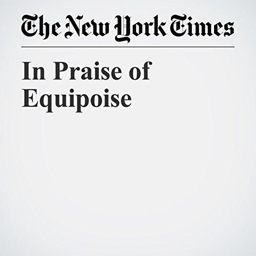 In Praise of Equipoise copertina