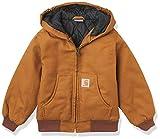 Carhartt Little Boys' Work Active Jacket, Carhartt Brown, XX-Small/4/5