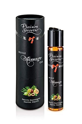 Plaisirs Secrets Huile de Massage Comestible Fruits Exotiques 59 ml