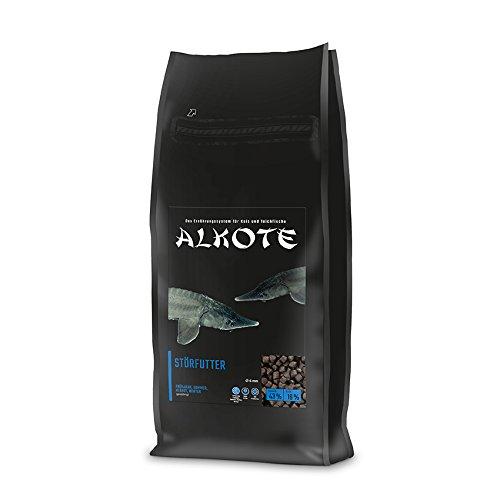 AL-KO-TE, 4-Jahreszeitenfutter für Zierstöre, Sinkende Pellets, 6 mm, Hauptfutter Premium, 3 kg