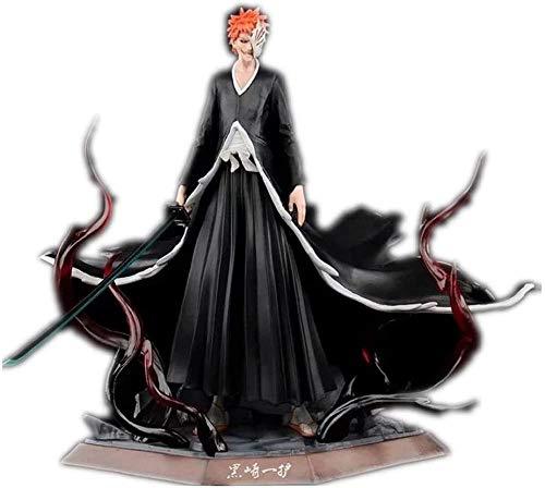 LJXGZY De Handmade Bleach Figure Kurosaki Ichigo Figura Anime Figura Coleccion Decoracion Modelo Regalo de cumpleanos Estatua