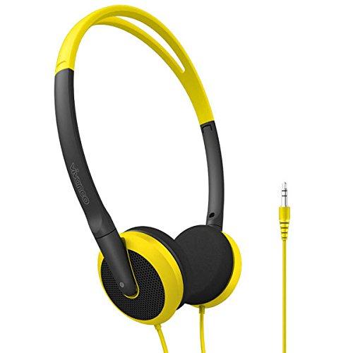 Vivanco Fusion ON Ear Mehrfarben Ohraufliegend - Kopfhörer (Ohraufliegend, Verkabelt, 18-20000 Hz, 101 dB, 1,2 m, Mehrfarben)