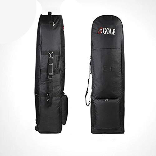Sairis Portátil acolchado bolsa de golf Durable viaje cubierta caso con ruedas Construcción de nylon que lleva el equipo deportivo