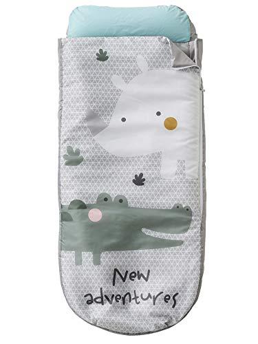 Vertbaudet Readybed® Schlafsack mit integrierter Matratze, Grau