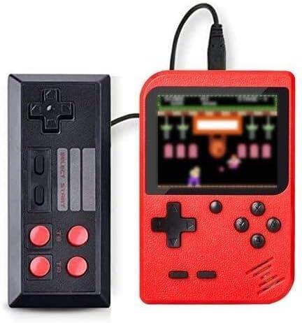 SeeKool Console de Jeu Portable Retro FC, 3 Pouces 500 Jeux Classiques Console de Jeux vidéo rétro, avec 1 Joystick p...